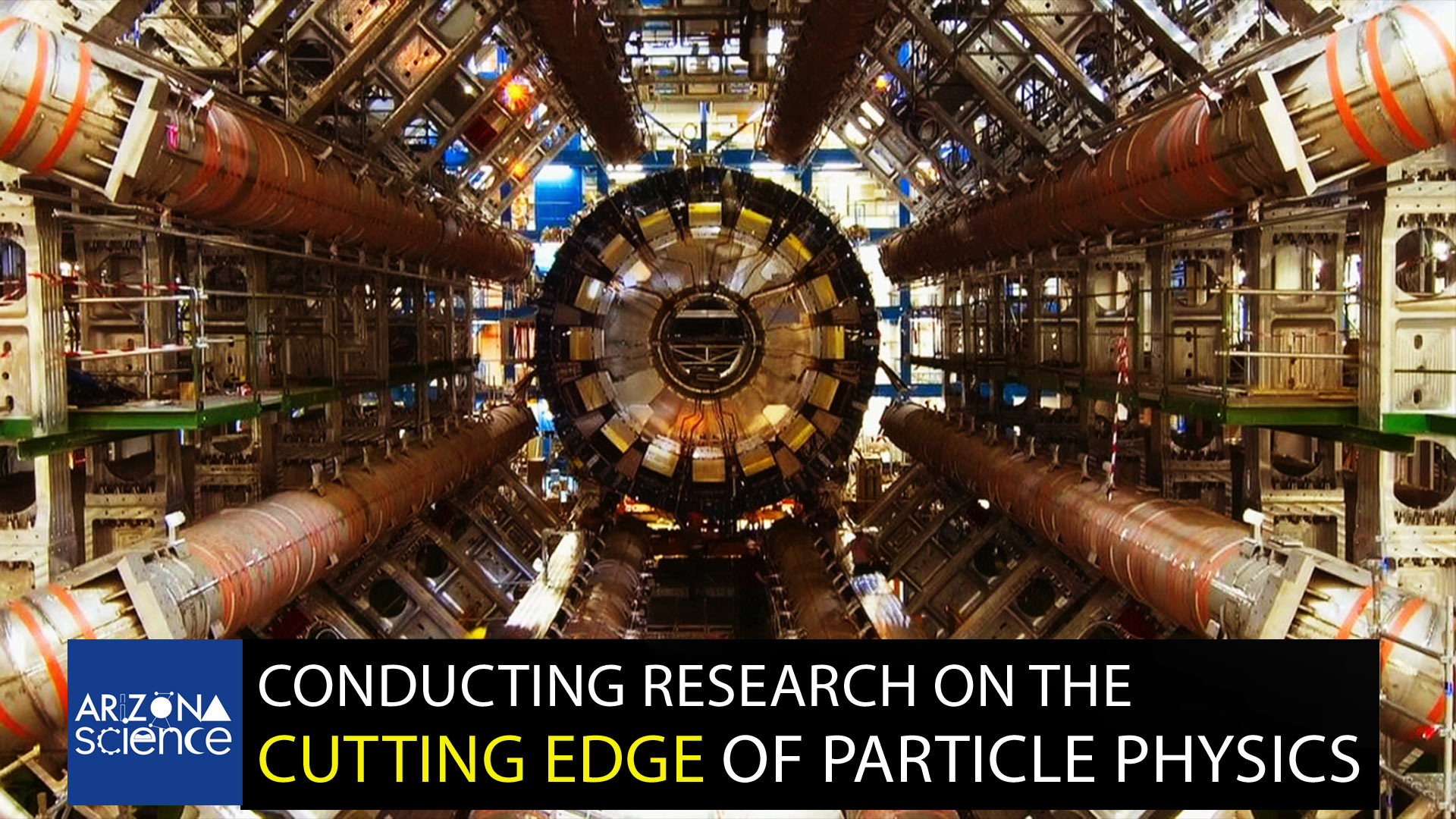 Episode 215: Conducting research on the cutting edge of particle physics.