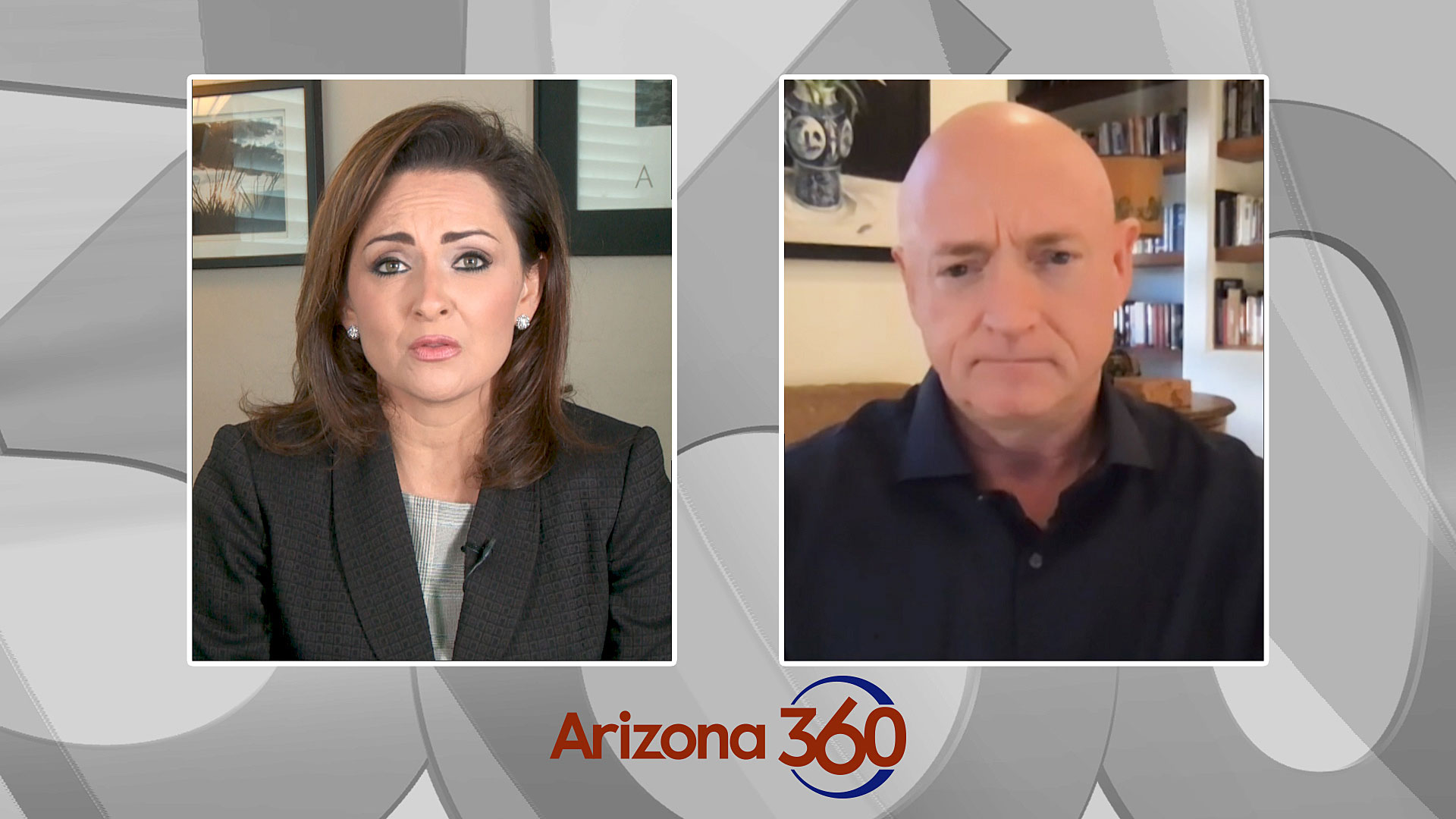 Arizona 360 host Lorraine Rivera interviews Democratic Senate candidate Mark Kelly on Sept. 29, 2020.