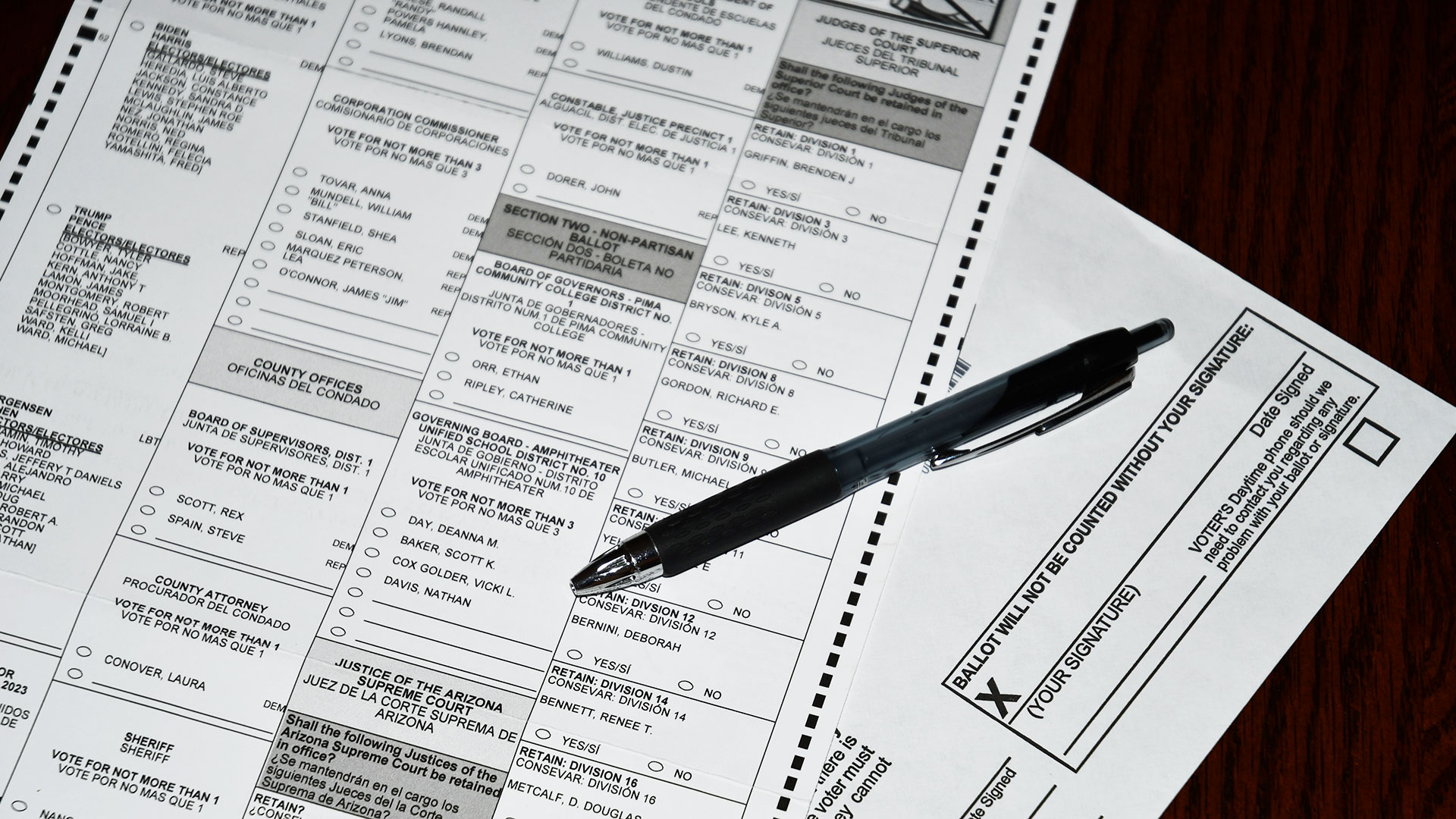 Your Vote 2020: Mail-In Ballot