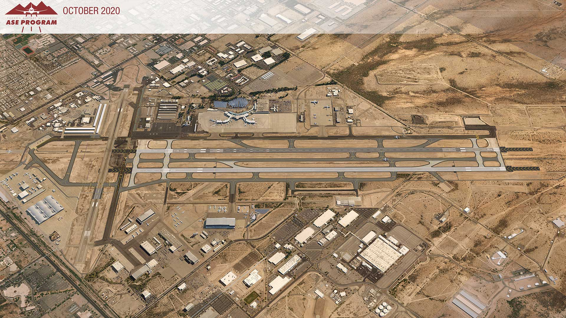 The Tucson Airport Authority plans to upgrade an existing runway to a 2-mile-long commercial runway.