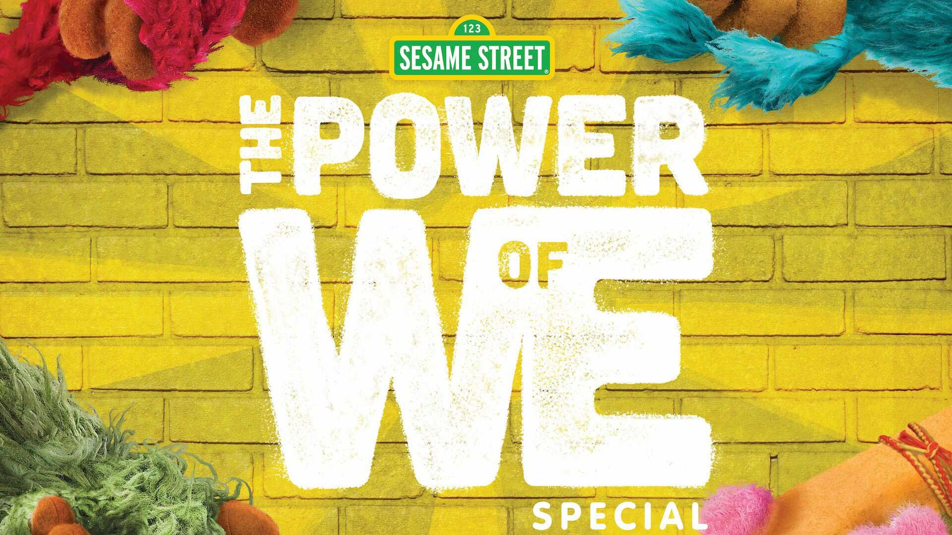 The Power of We: A Sesame Street Special features Elmo and Abby Cadabby, who are joined by 6-year-old Muppet Gabrielle and her cousin, 8-year-old Tamir.
