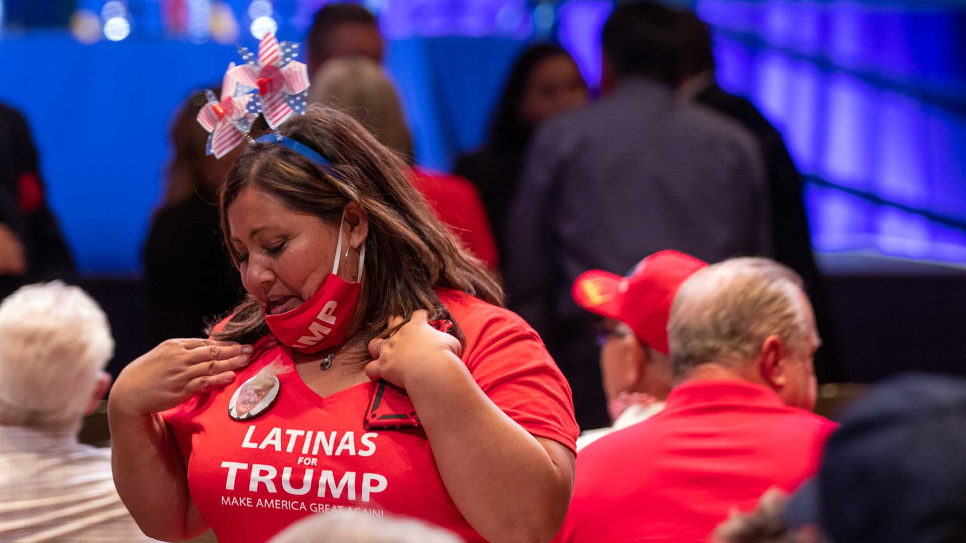 latinas for trump rally