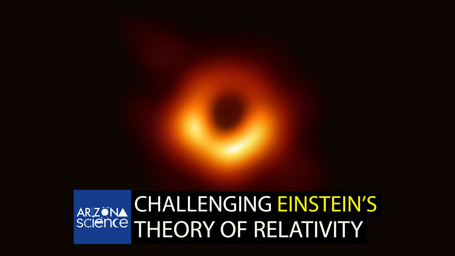 Historic image of a black hole by Event Horizon Telescope.