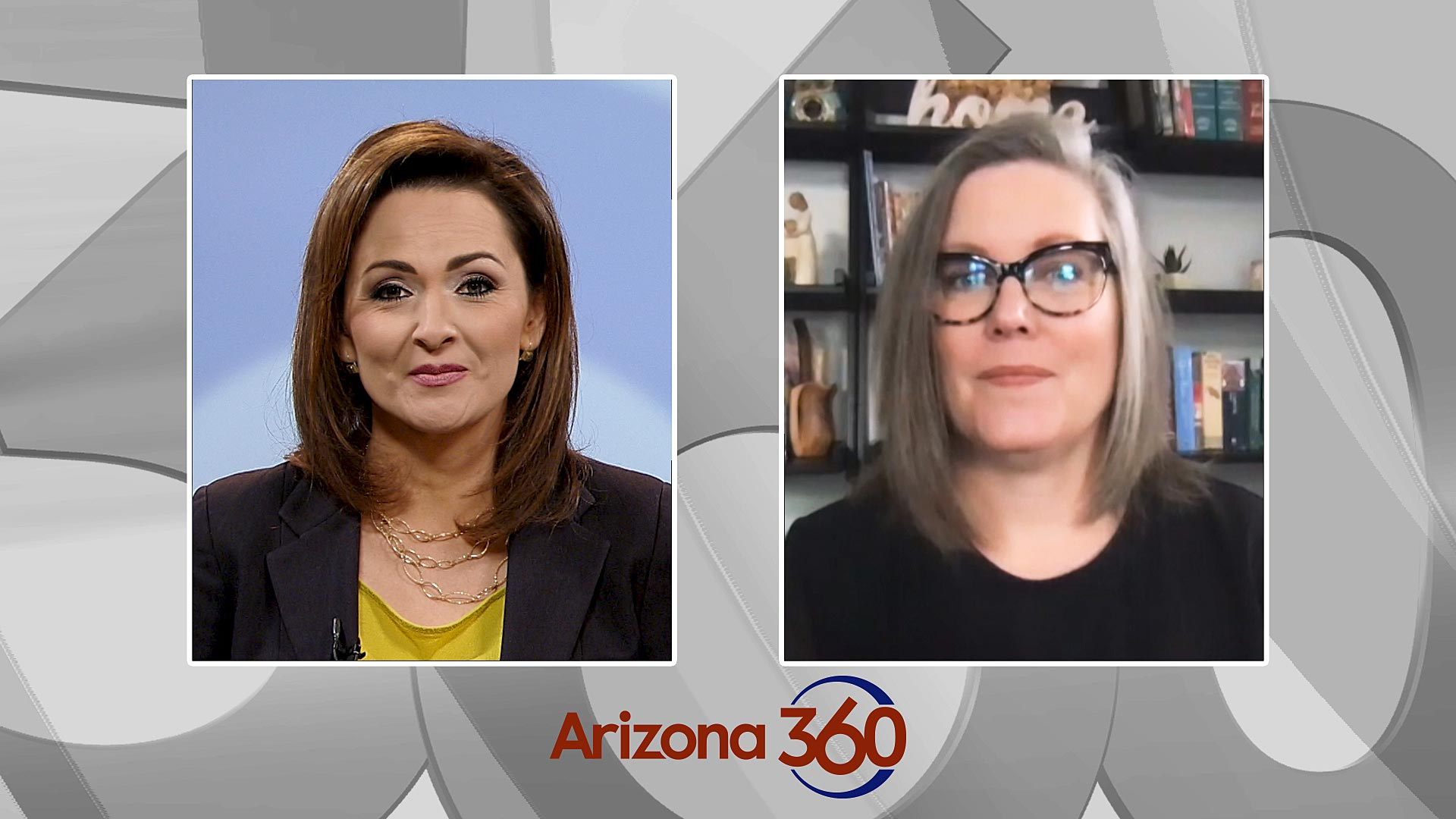 Arizona Secretary of State Katie Hobbs interviews with Arizona 360 host Lorraine Rivera on Oct. 26, 2020.