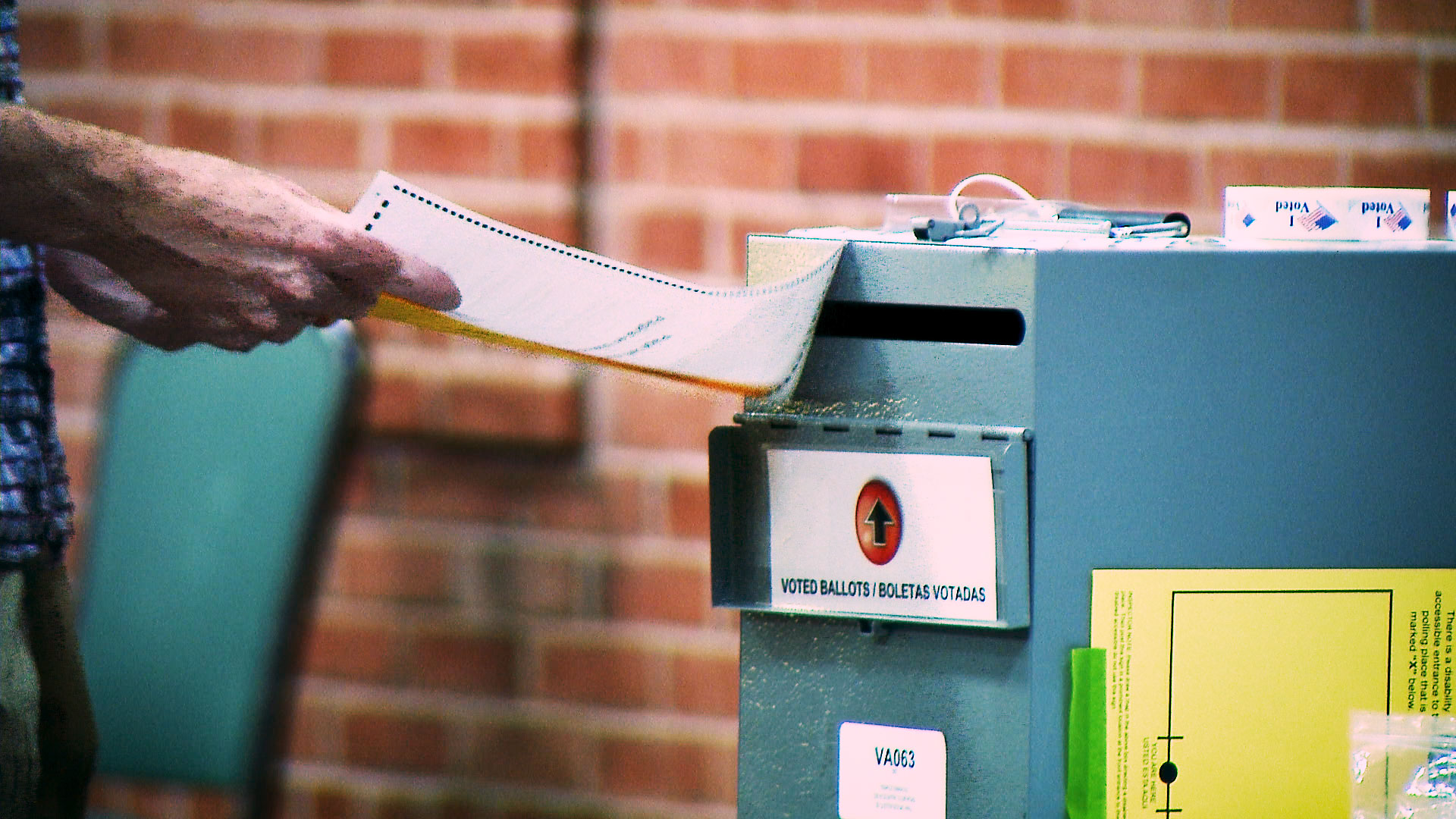 360 primary ballot box