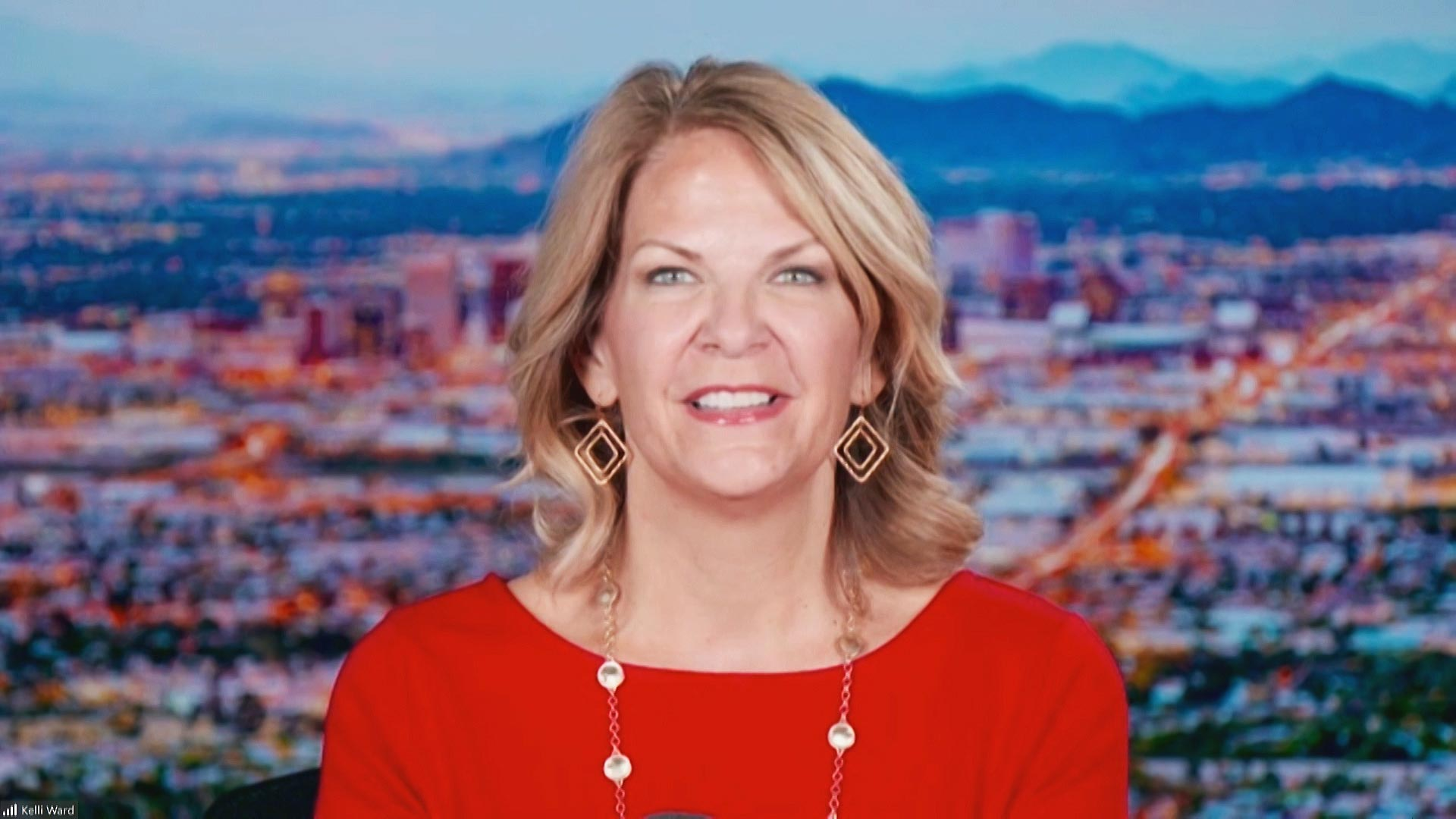 Arizona Republican Party Chair Kelli Ward during an interview with Arizona 360 on Nov. 10, 2020.