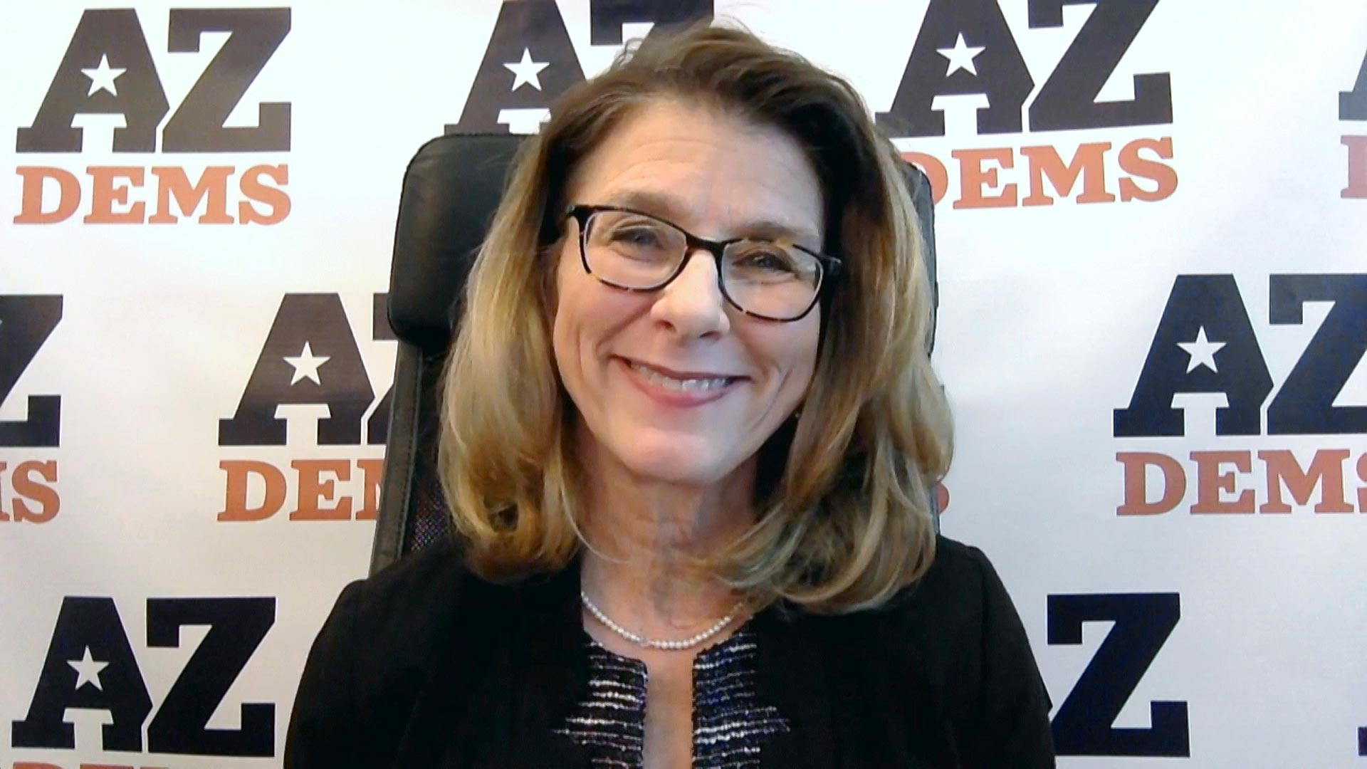Arizona Democratic Party Chair Felecia Rotellini during an interview with Arizona 360 on Nov. 12, 2020.