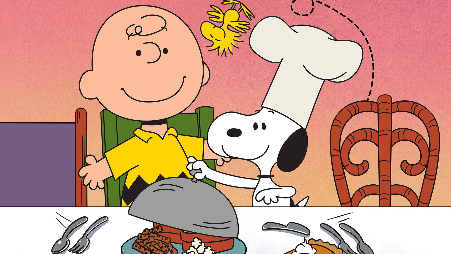 charlie brown thanksgivng hero