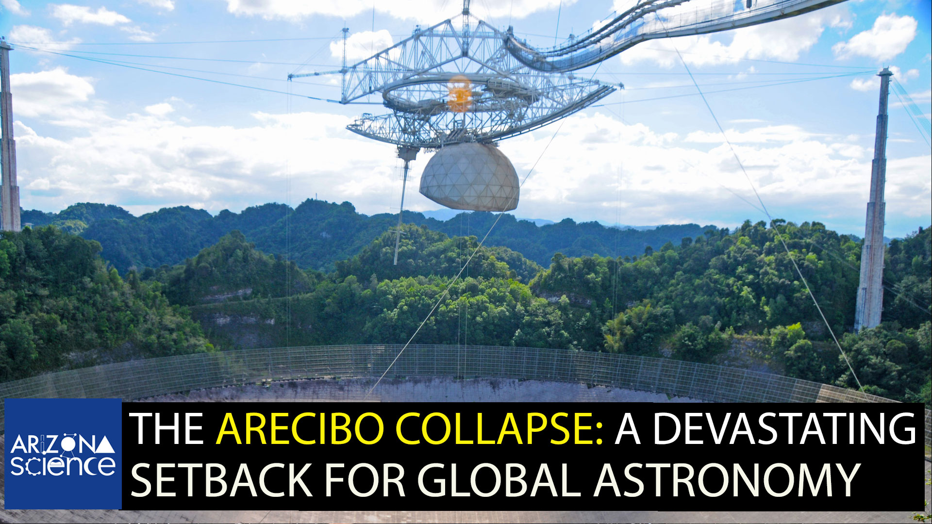 Arecibo Observatory photo taken in 2010.