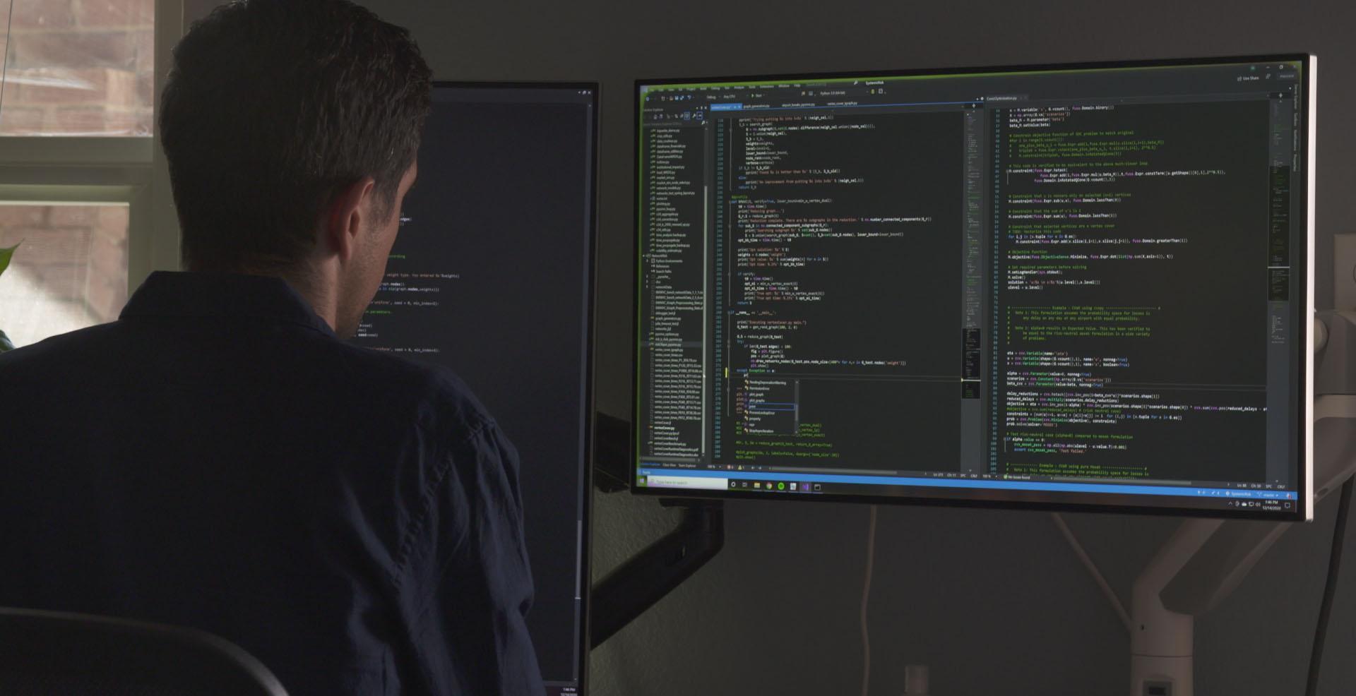 joey ortiz computer screens spotlight