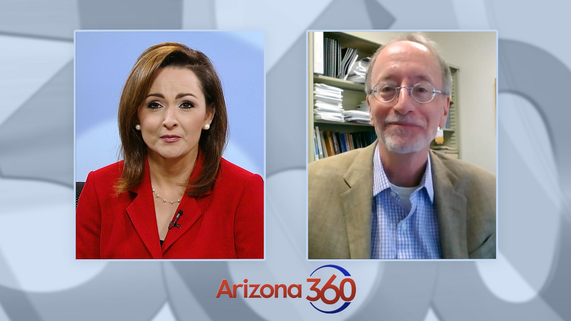University of Arizona economist George Hammond during an interview with Arizona 360 host Lorraine Rivera on Dec. 2, 2020