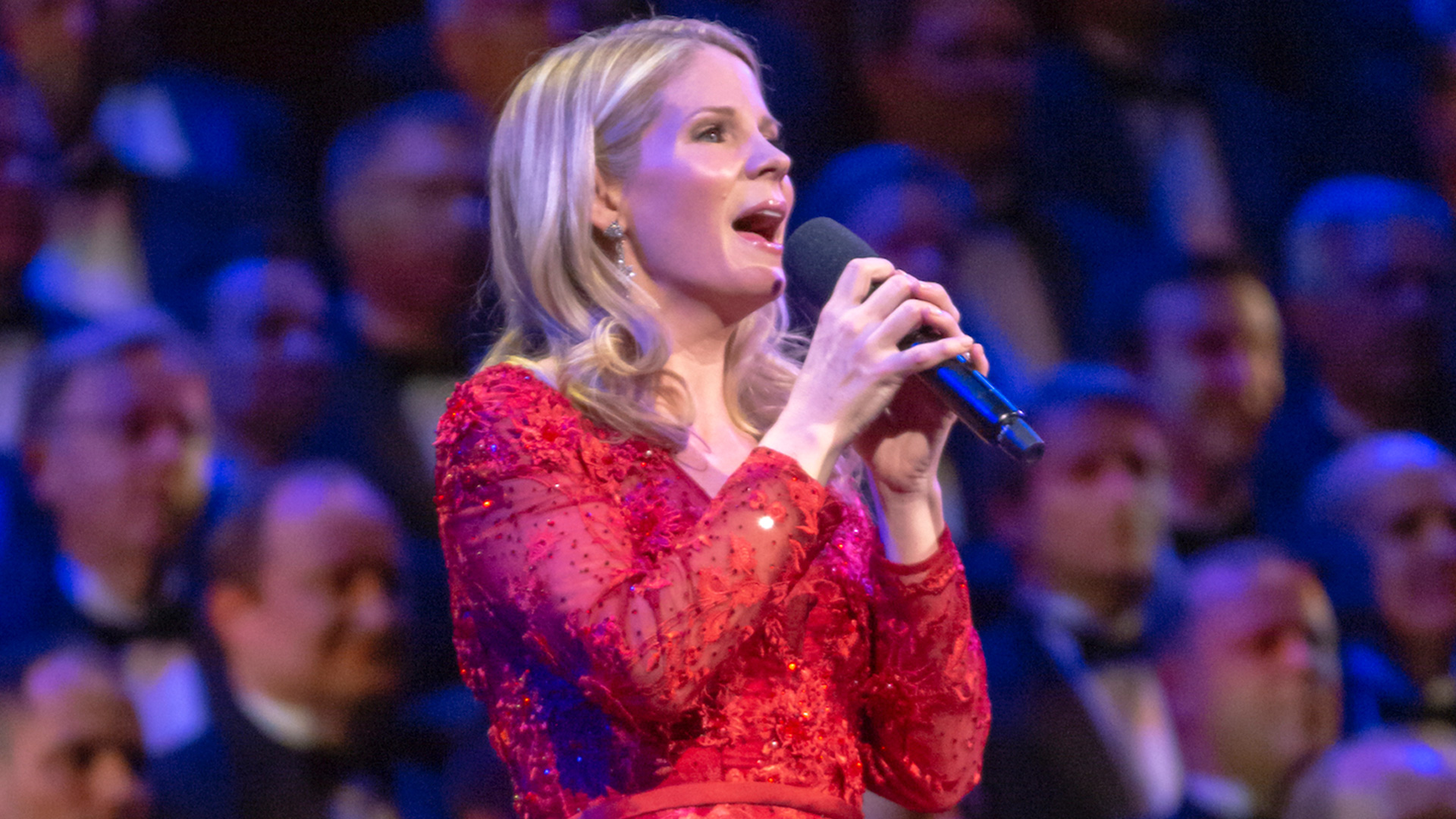 Kelli OHara with The Tabernacle Choir at Temple Square