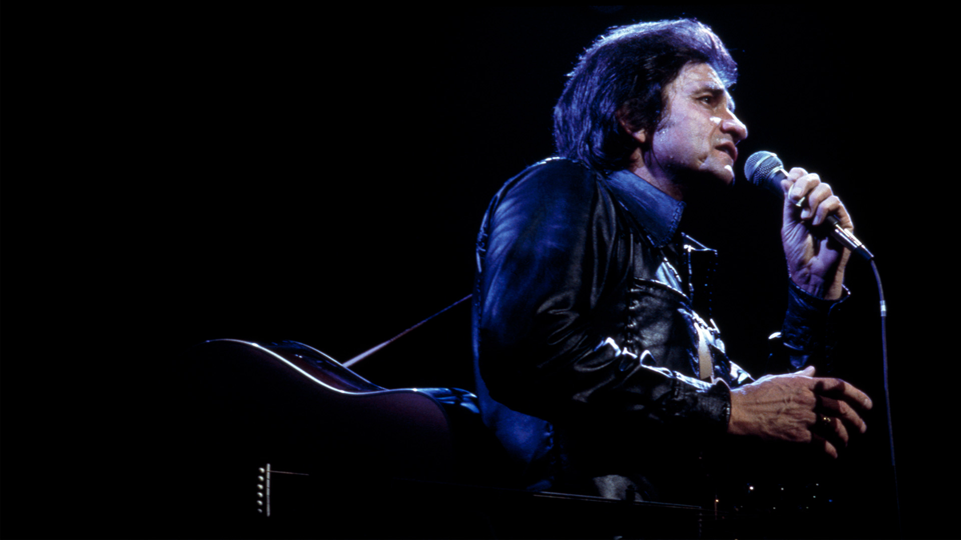Johnny Cash in a never-before-seen 1973 concert recently found in Sony Music Entertainment's vault.