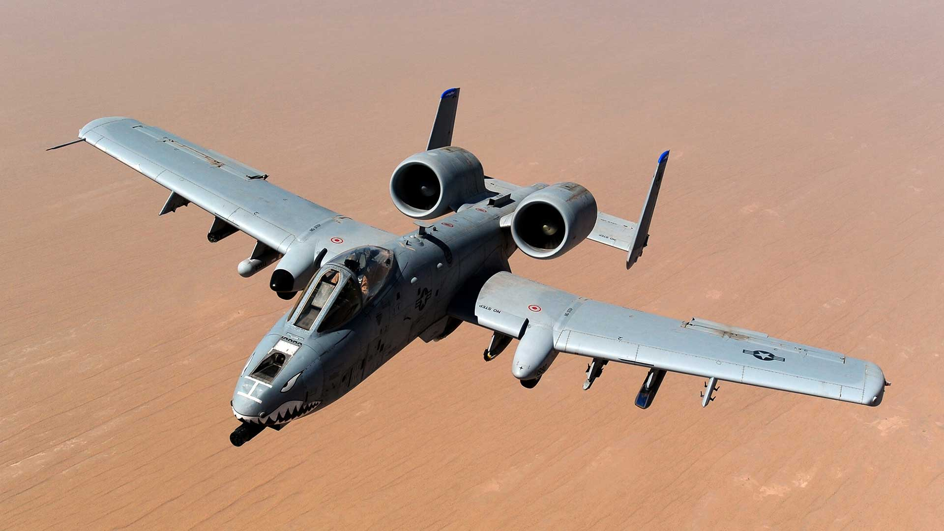An A-10 Thunderbolt II from the 74th Fighter Squadron at Moody Air Force Base in Georgia flies over Afghanistan in this 2011 photo. The Pentagon plans to retire 44 A-10s in fiscal 2021, which has put some Arizona lawmakers on alert.