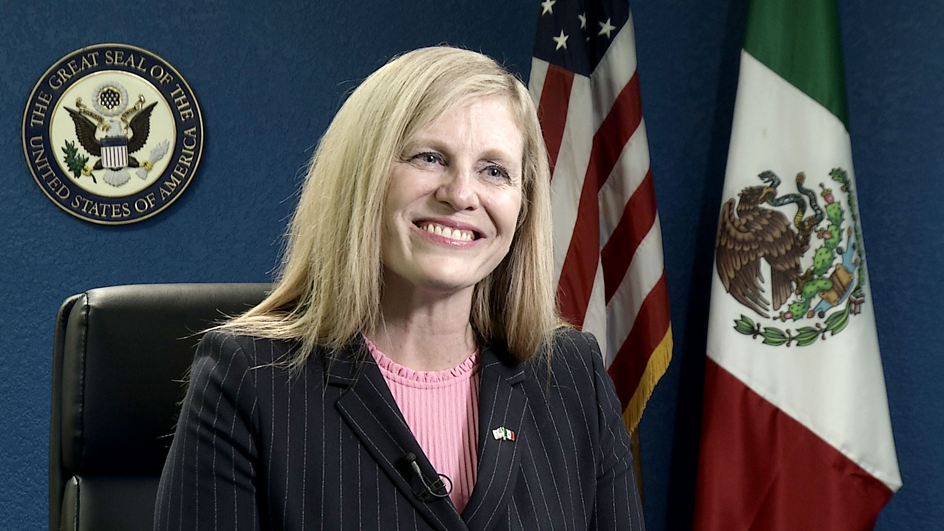 Consul General Virginia Staab for the U.S. Consulate in Nogales, Sonora.