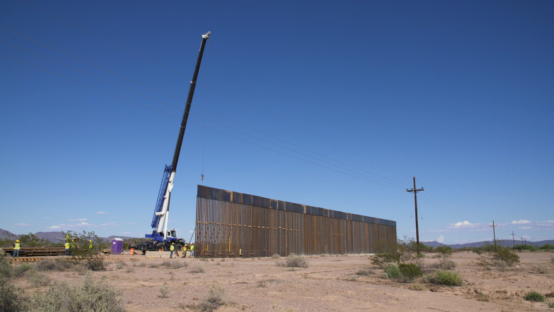 Border Wall Construction