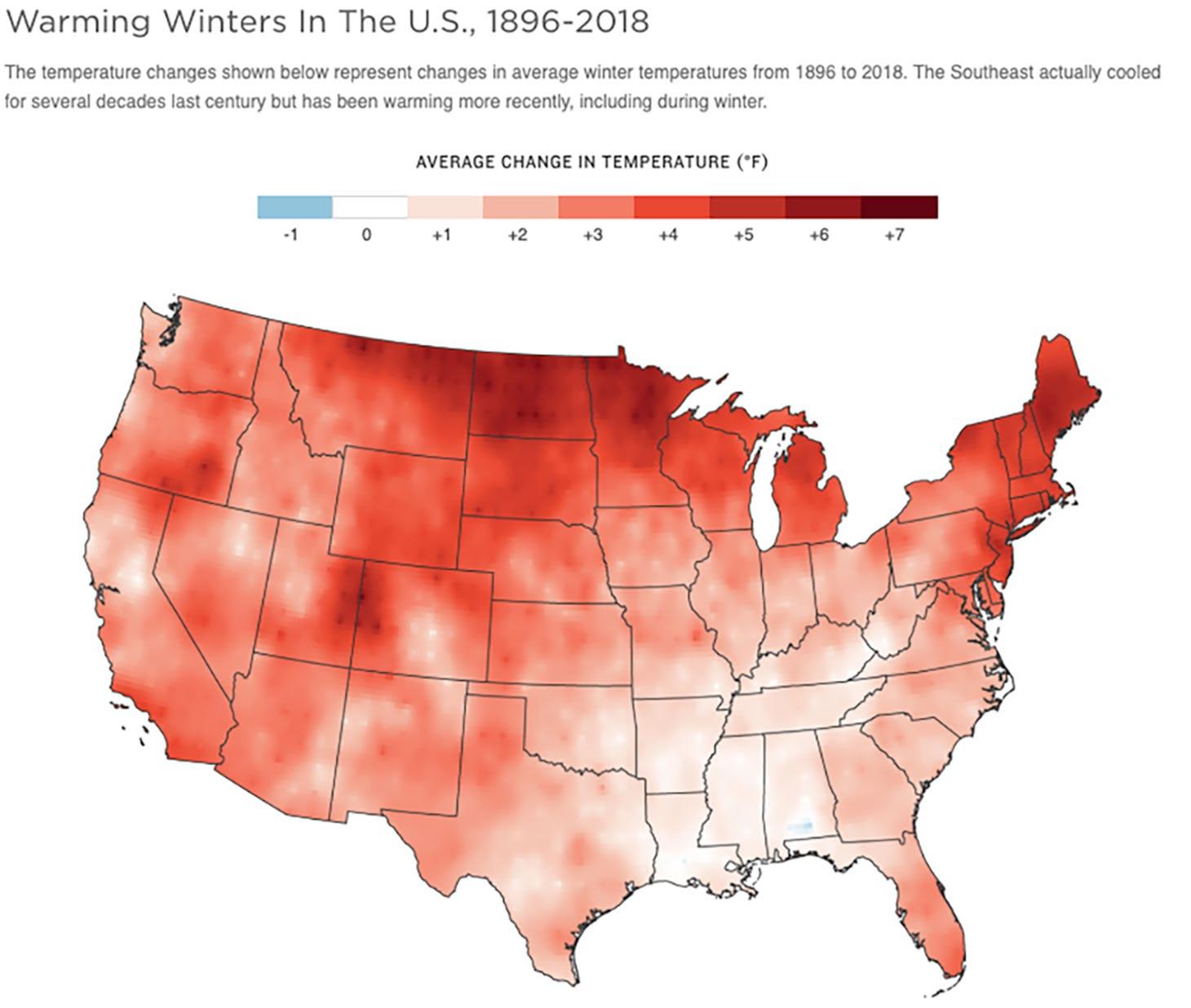 npr news warm winters avg temp