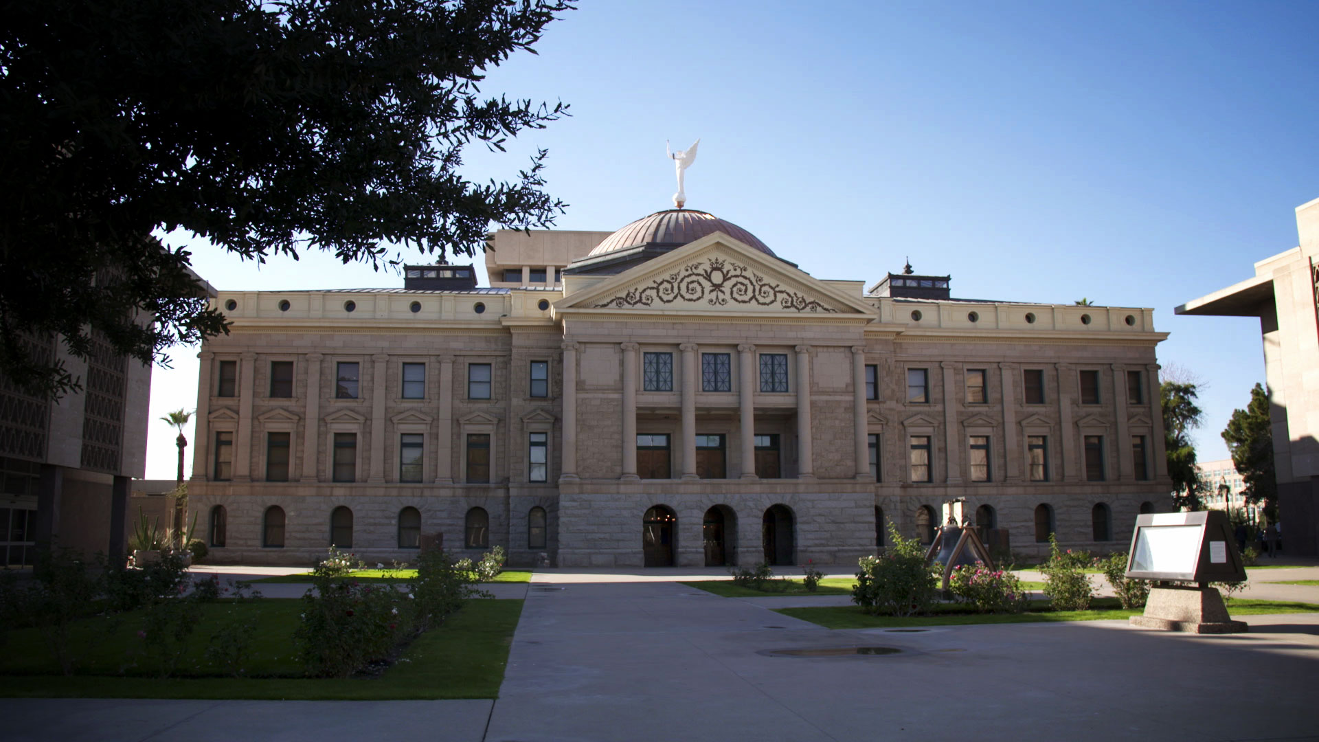 The Arizona State Legislature in Phoenix.