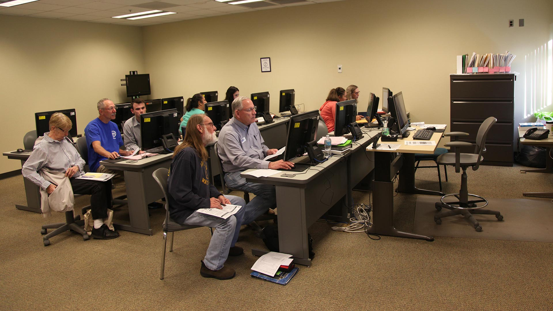 VITA tax preparers help Pima County taxpayers in 2018.