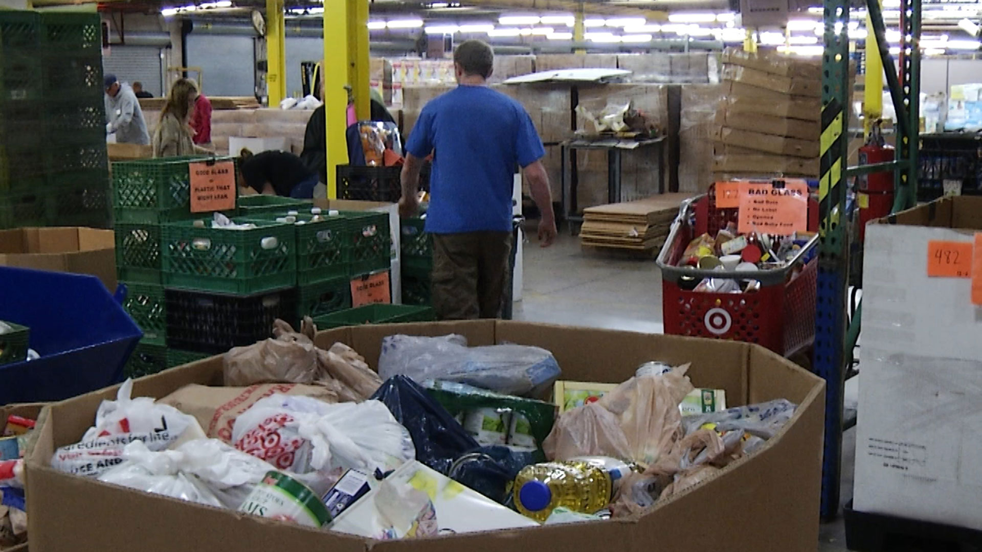 The Community Food Bank of Southern Arizona provides food to about 200,000 people each year.