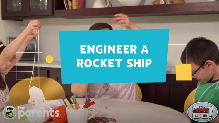 Engineer a rocket ship distance learning