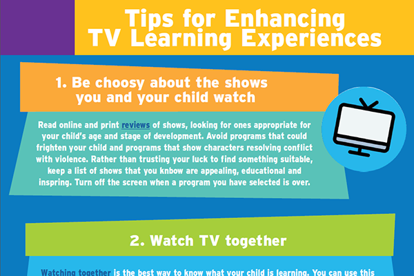 Tips for Enhancing TV Learning Experiences