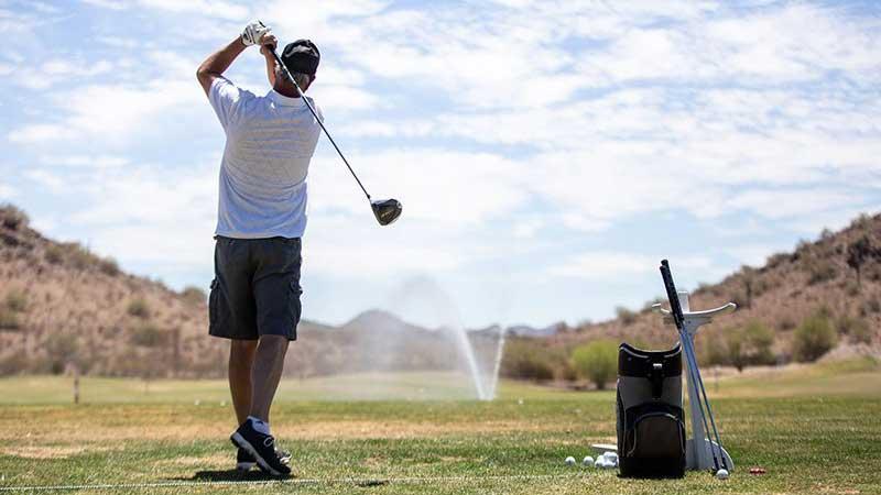 golf water