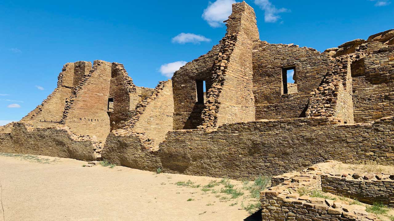 Chaco Canyon was once a hub of Indigenous civilization. Many cultural resources and sacred sights remain.