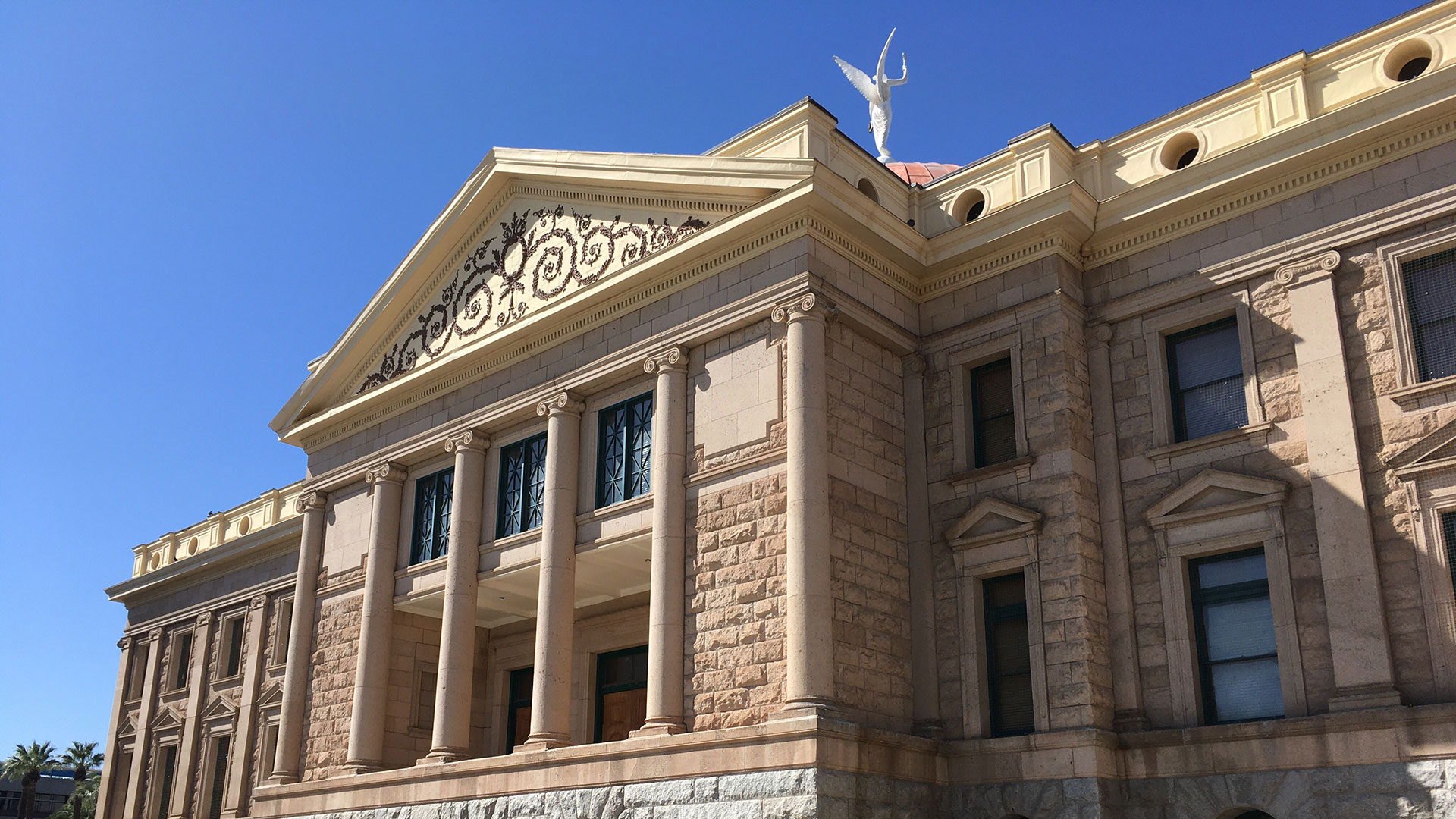 The Arizona state Capitol on March 3, 2020.