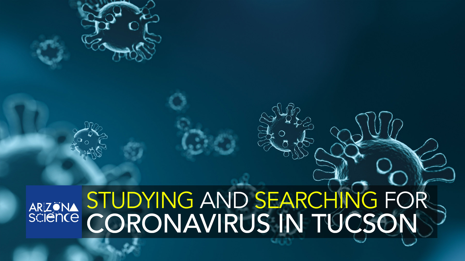 Studying and searching for coronavirus in Tucson