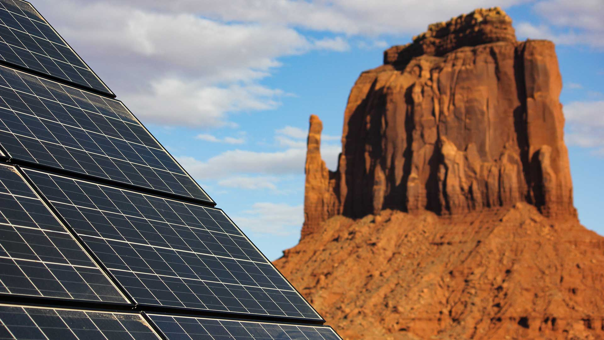 Some of the clean power the Navajo Nation hopes to sell to Los Angeles will be produced by the sun.