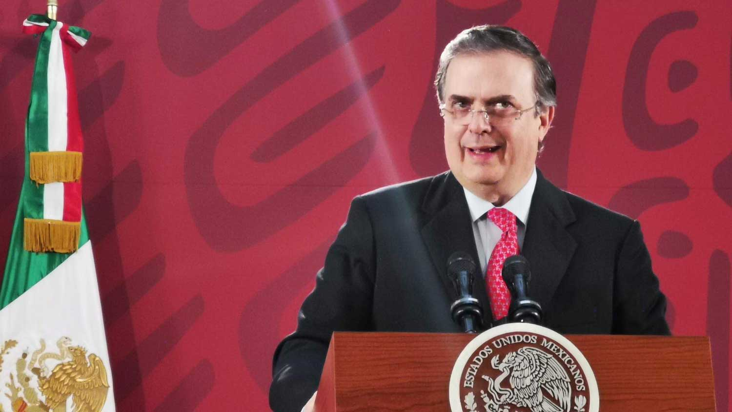 Mexican Secretary of Foreign Affairs Marcelo Ebrard.