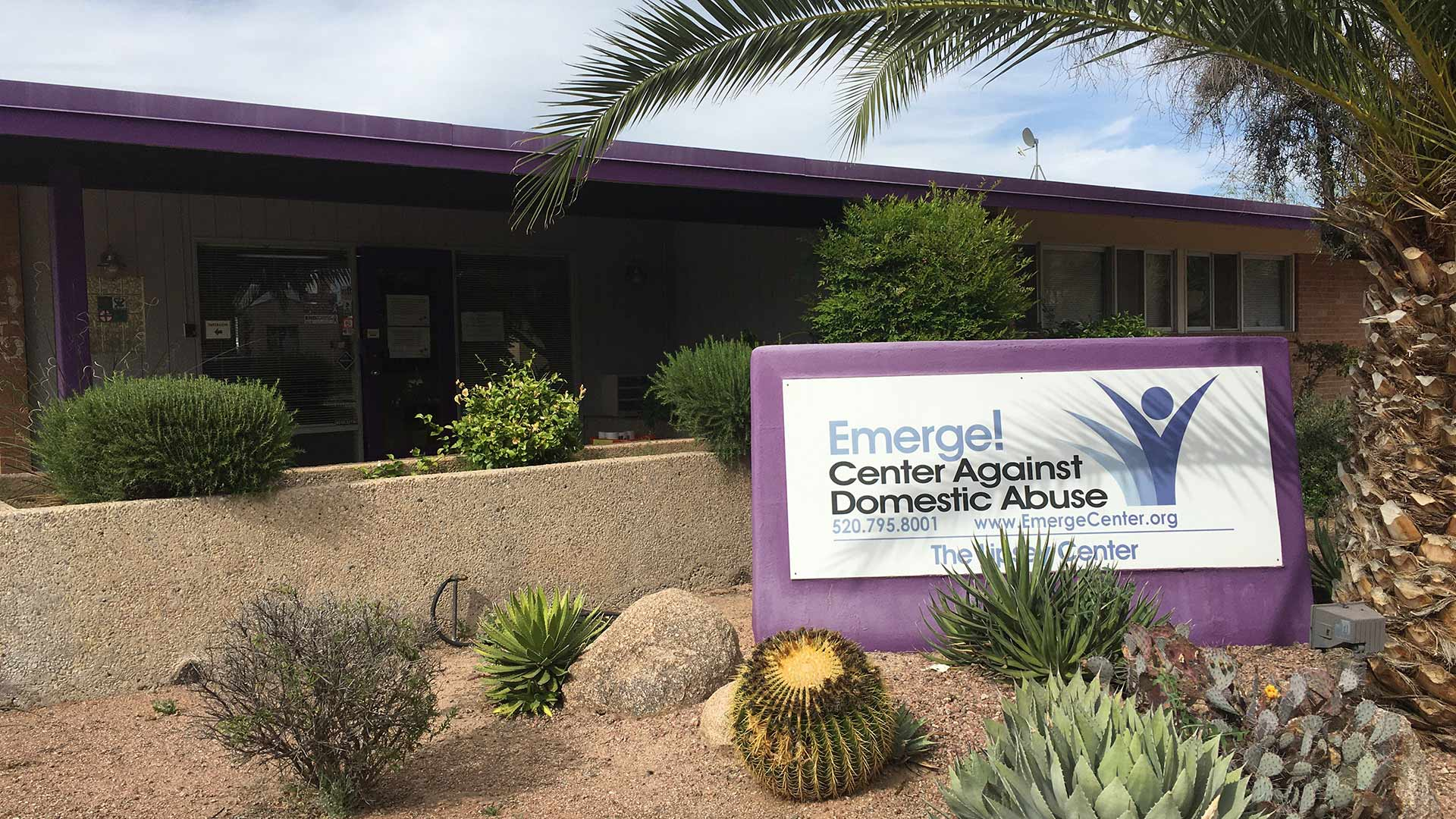 The administration building for Emerge! Center Against Domestic Abuse.