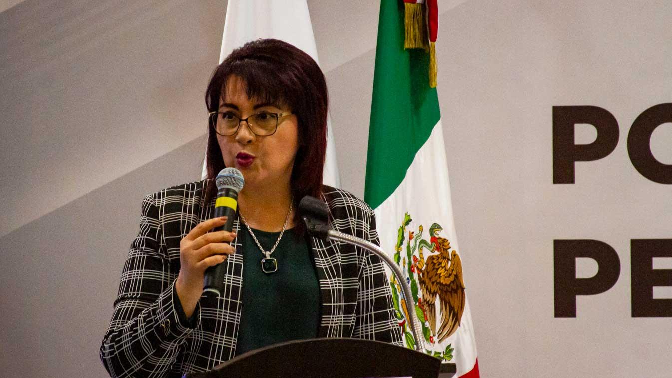 Sonora State Attorney Claudia Indira Contreras.