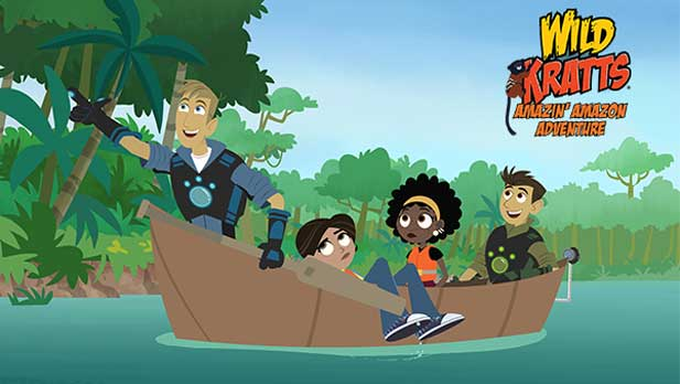 Travel to the Amazon rainforest with the Wild Kratts team! Watch now on pbskids.org or on the PBS KIDS video app.