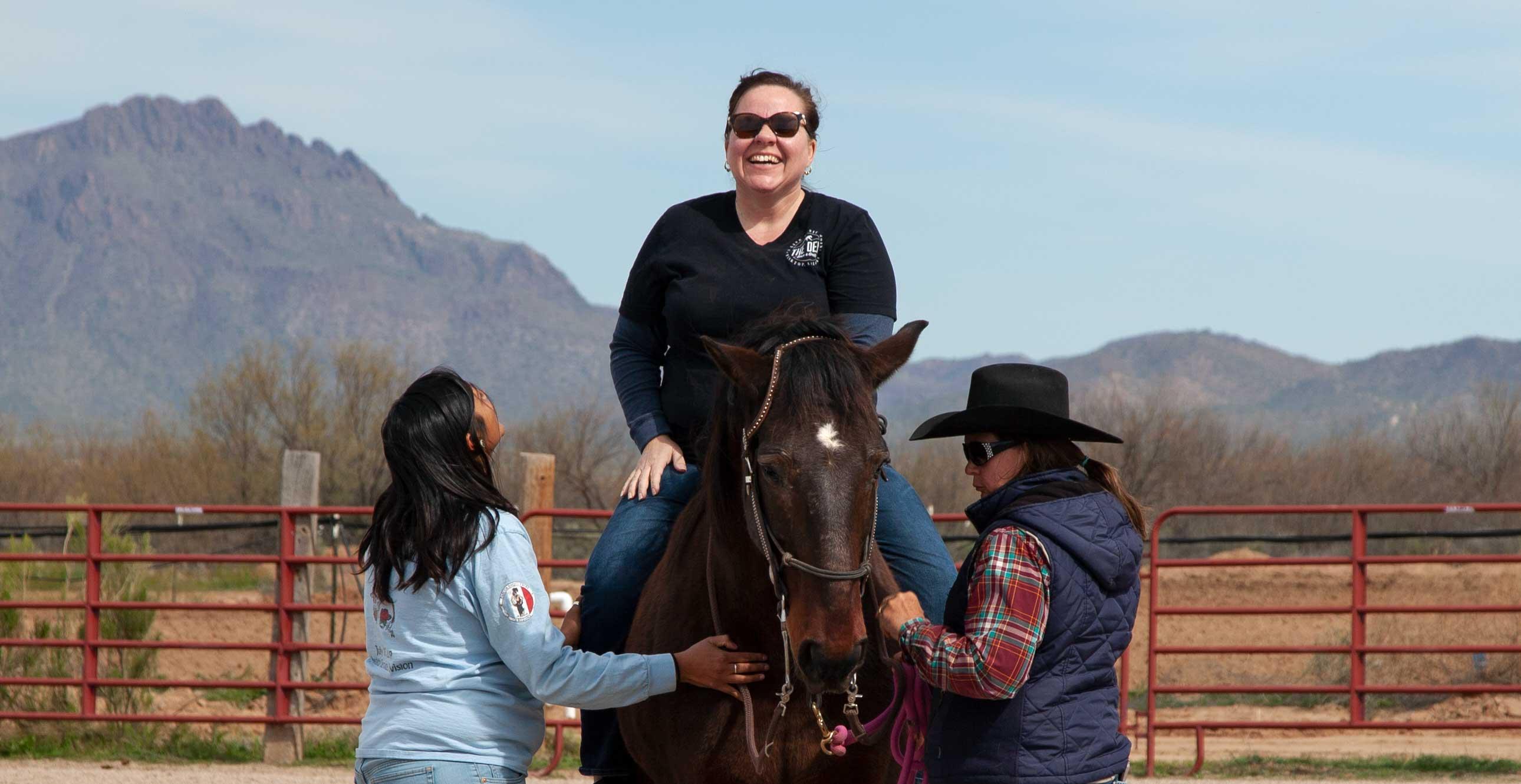 Pascua Yaqui Equine Therapy