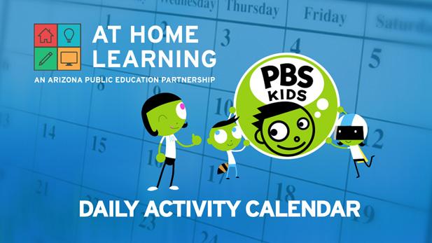 Daily activity calendar