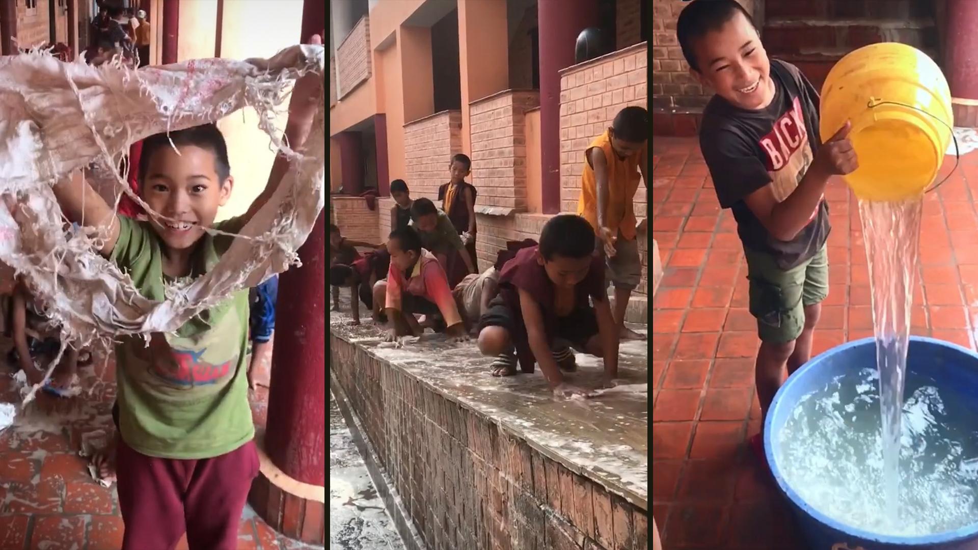 Nepal boys hero