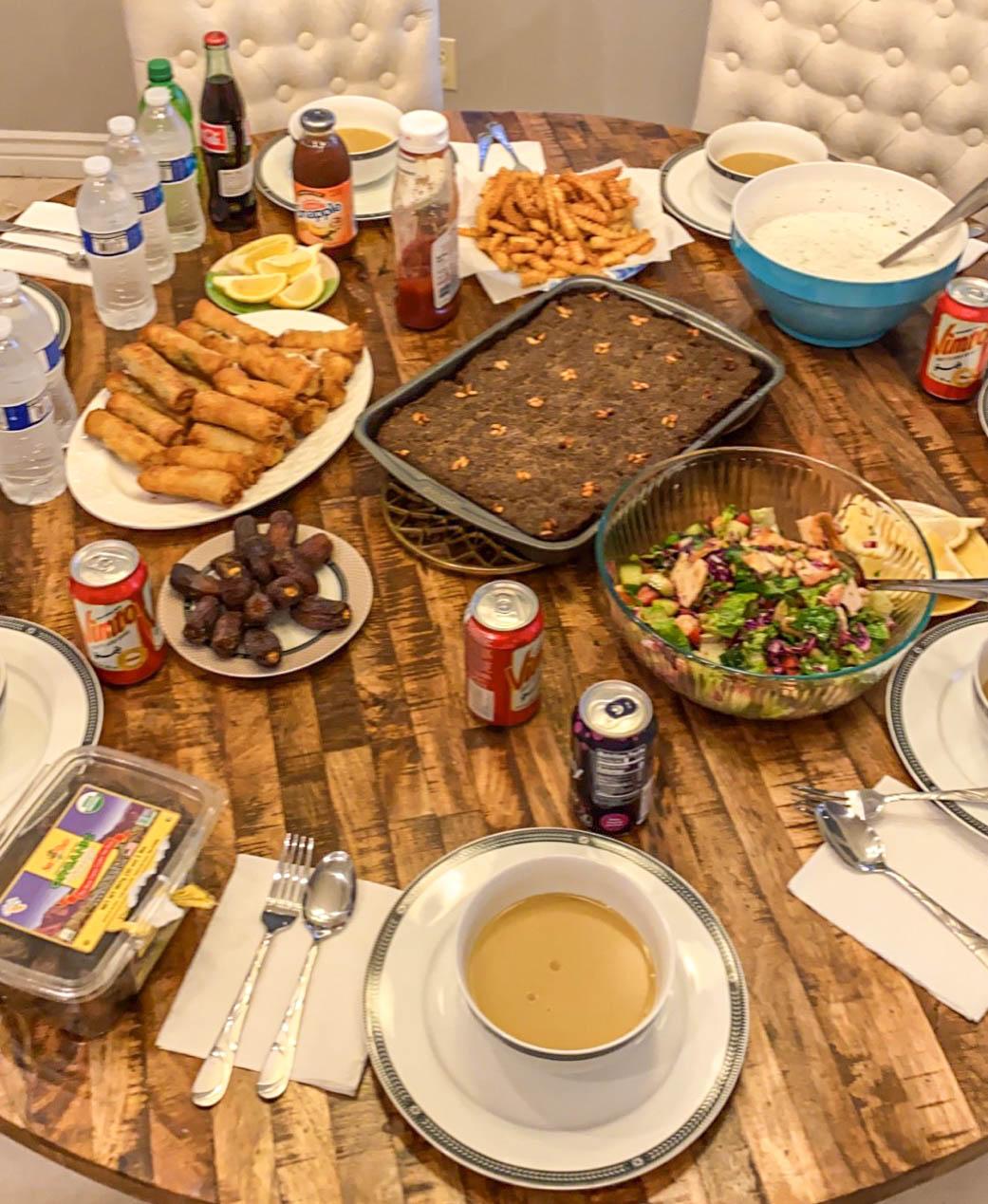 Ramadan table unsized