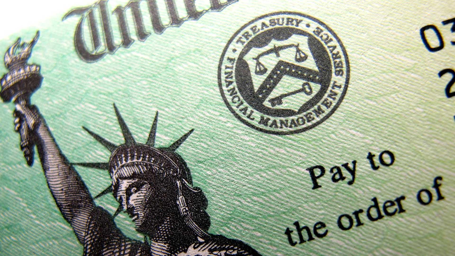 treasury check covid