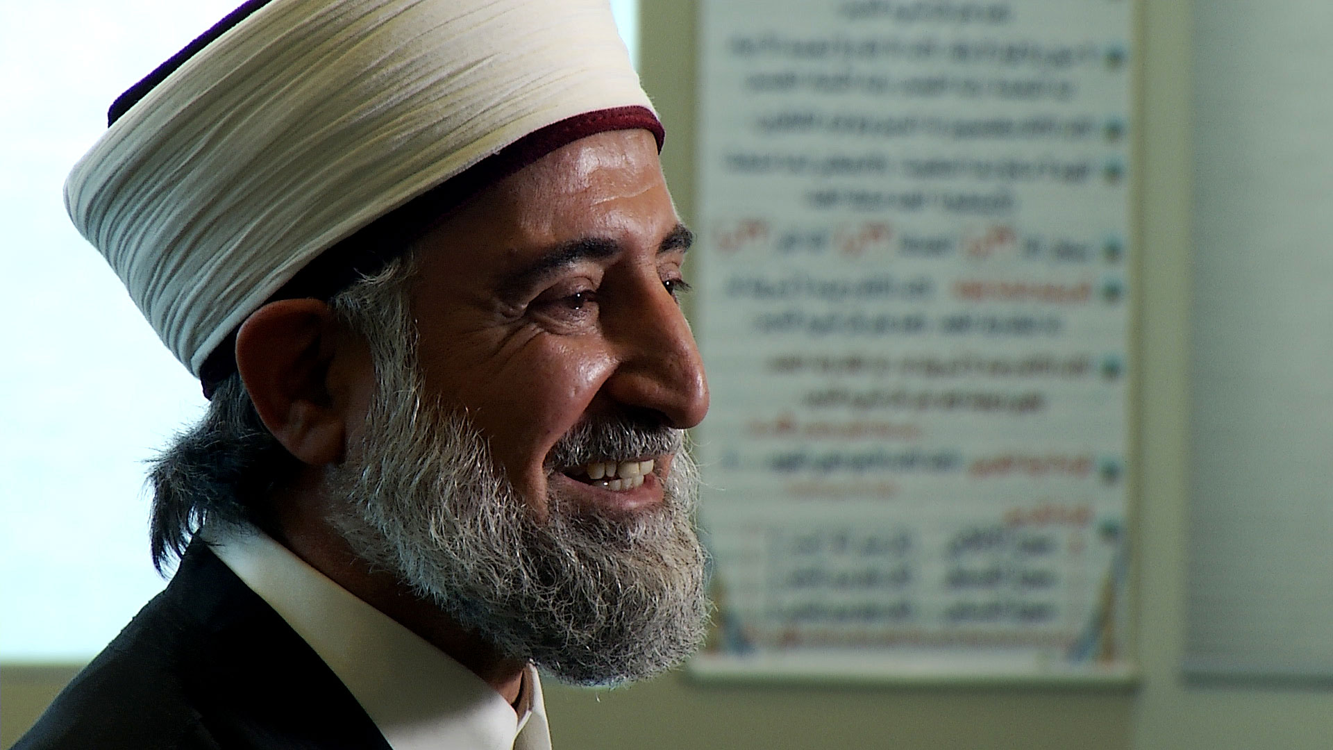 Imam Watheq Alobaidi of the Muslim Community Center of Tucson. May 18, 2020.