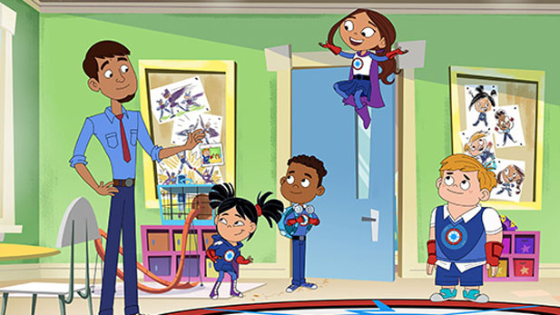 Hero Elementary is a school for budding superheroes, where kids learn to master their innate powers, like flying and teleportation, while exploring science along the way.