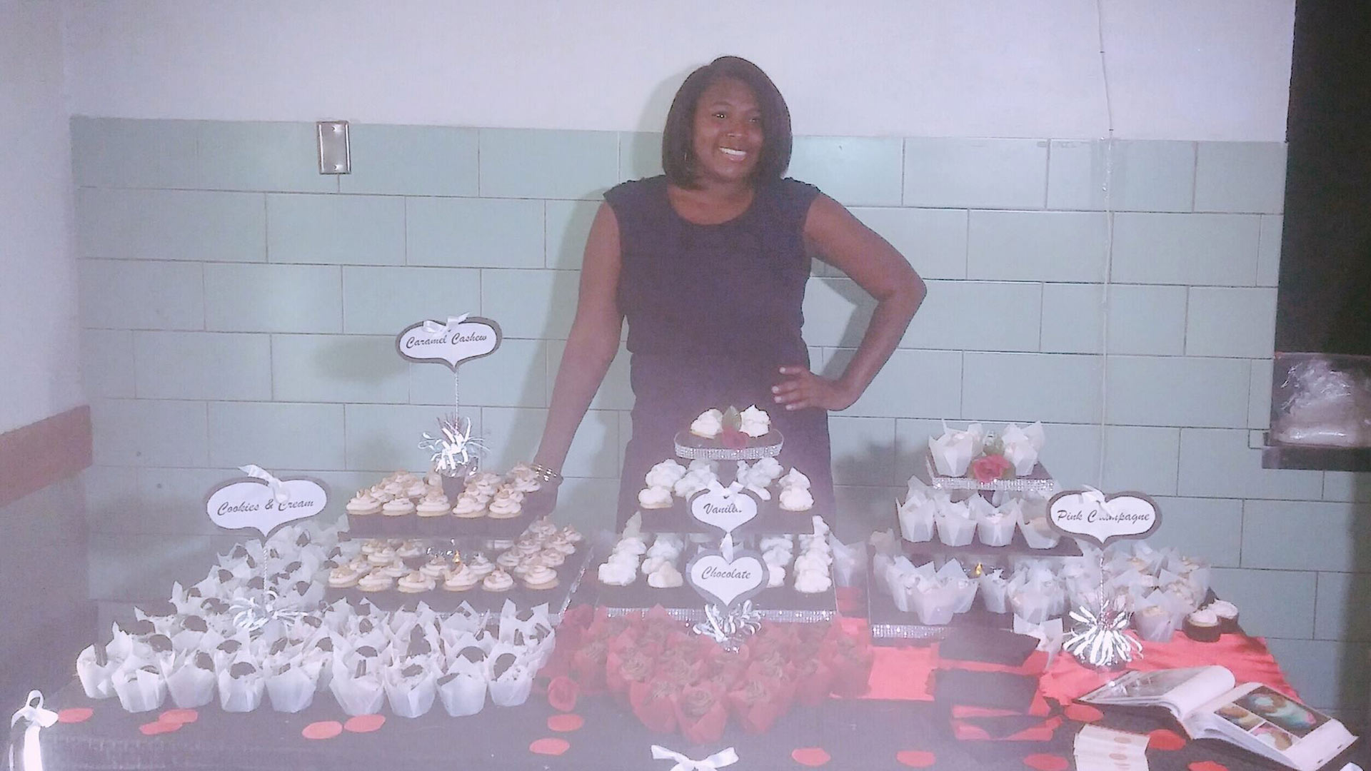 LaToya McCord has been a professional cake artist since 2015.