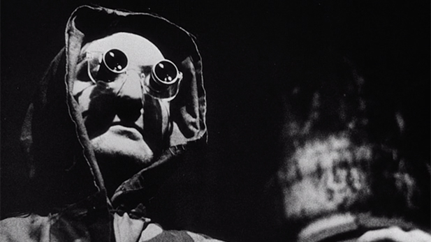 La Jetée man in glasses Spotlight