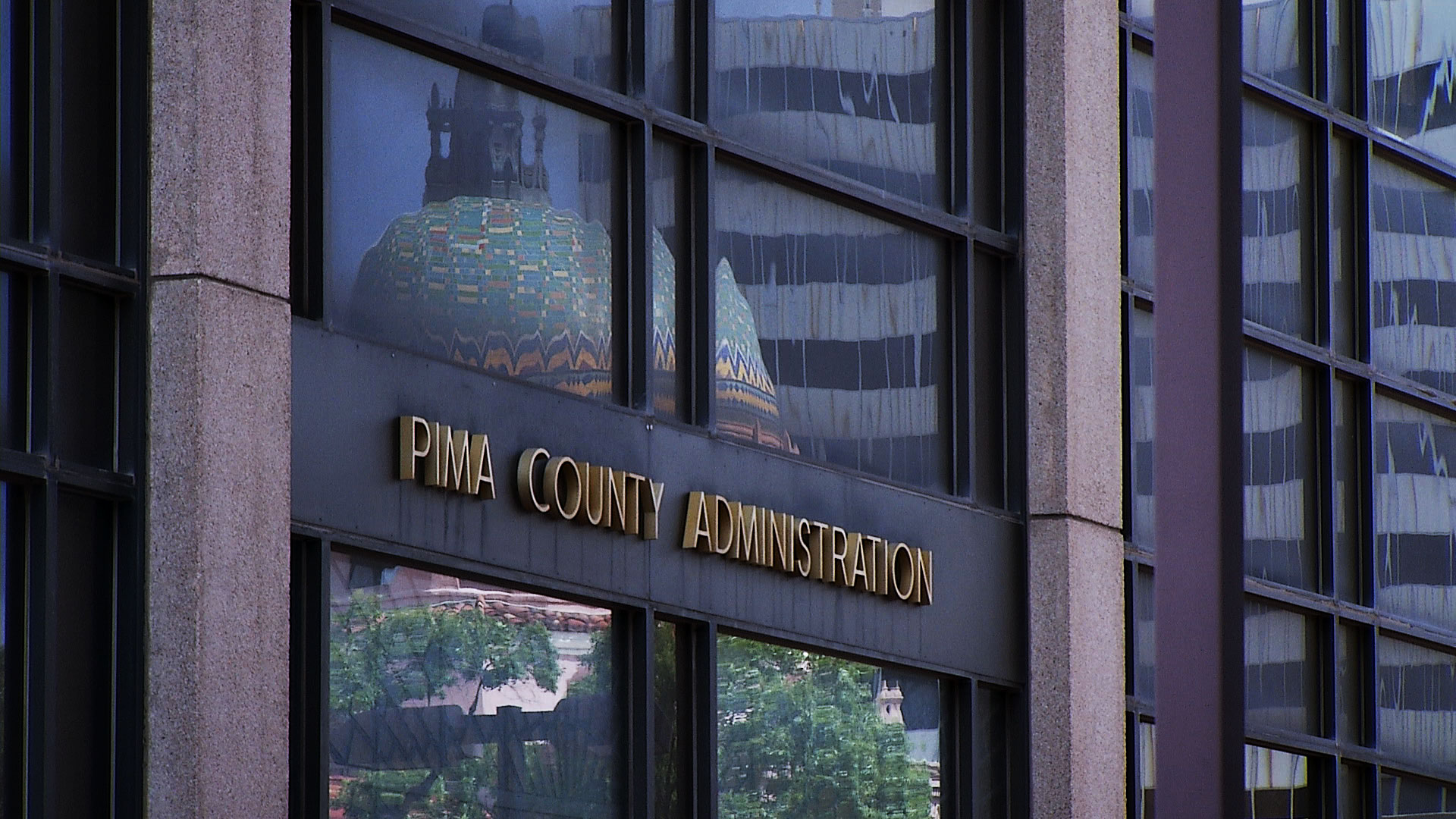 File image of the Pima County Administration Building in downtown Tucson.