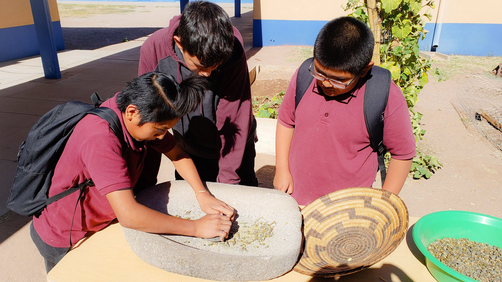 Baboquivari students
