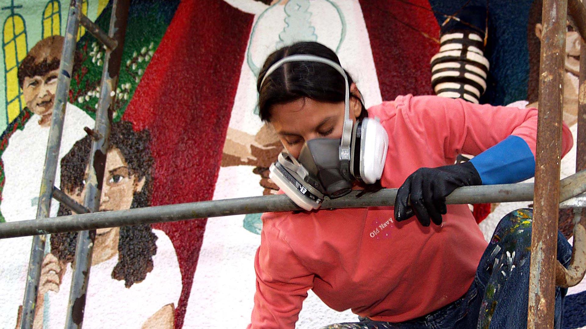 Adriana Gallego mural hero
