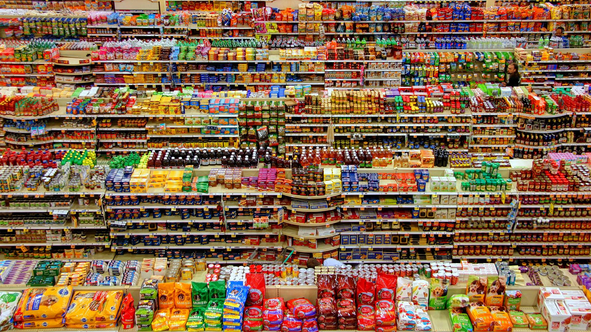 The Sensitives shopping isles hero