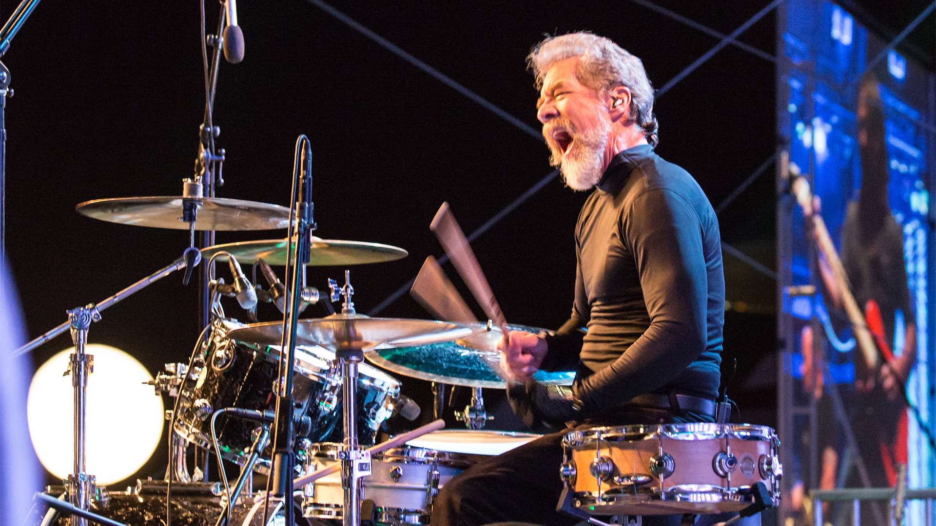Doug Clifford on drums hero