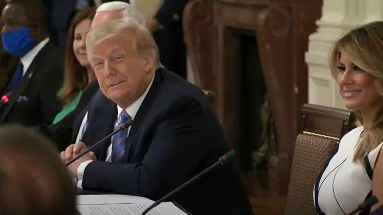 Trump ed panel